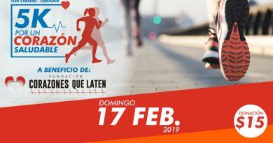 ¡Participa! 5k por un corazón saludable